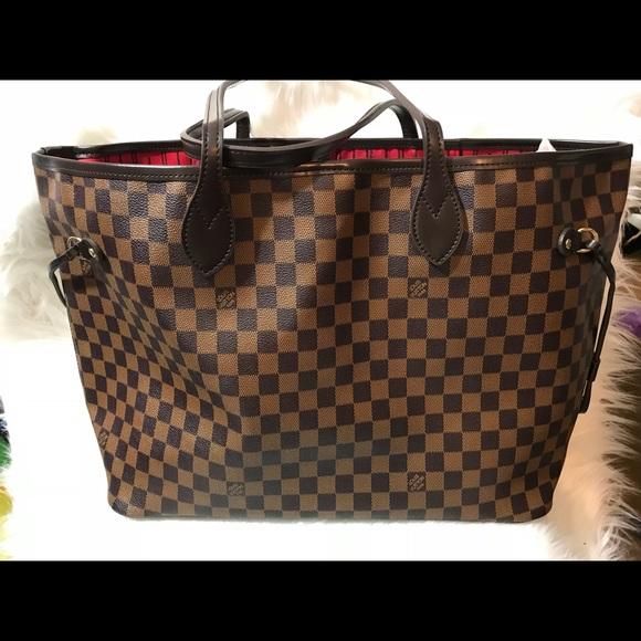 ba15e4fd9f Louis Vuitton Handbags - Authentic Louis Vuitton Damier Azur Neverfull GM